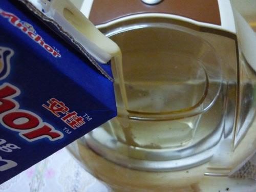 Cách làm kem vani rượu Rum 5