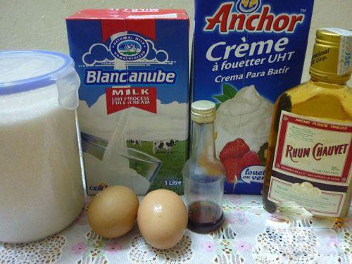 Cách chọn nguyên liệu làm kem