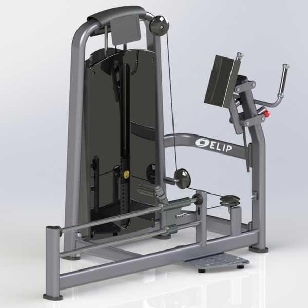 Máy đạp mông Elip YL17
