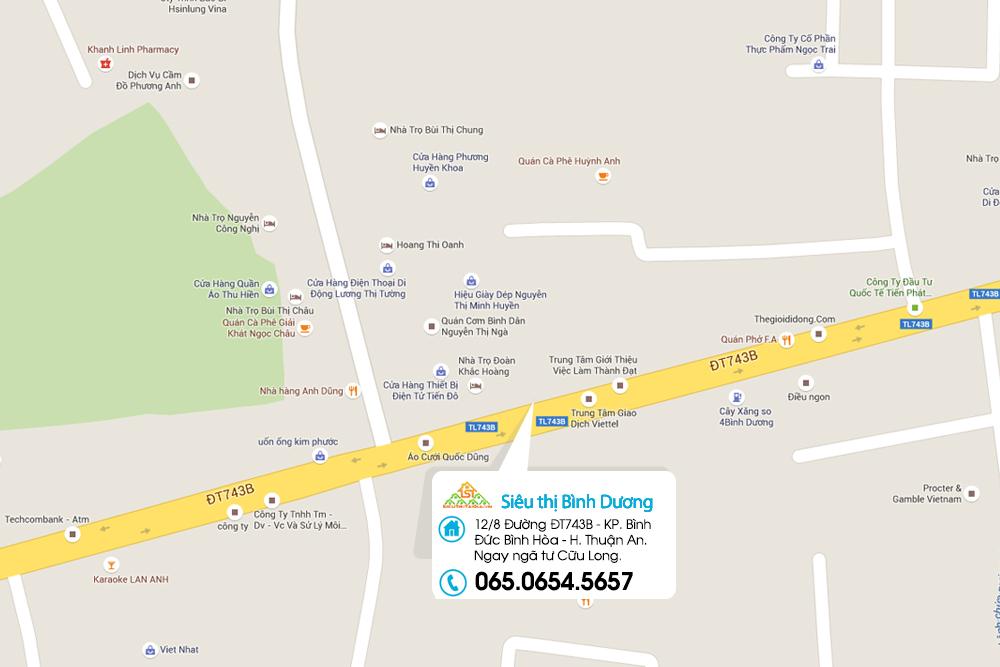 Thông báo chi nhánh mới ở Miền Đông Nam Bộ