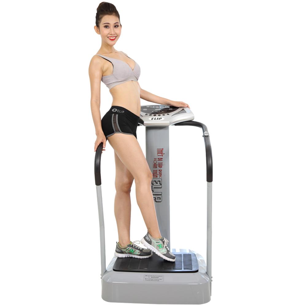 Cải thiện sức khỏe gia đình bằng máy tập thể dục Elip