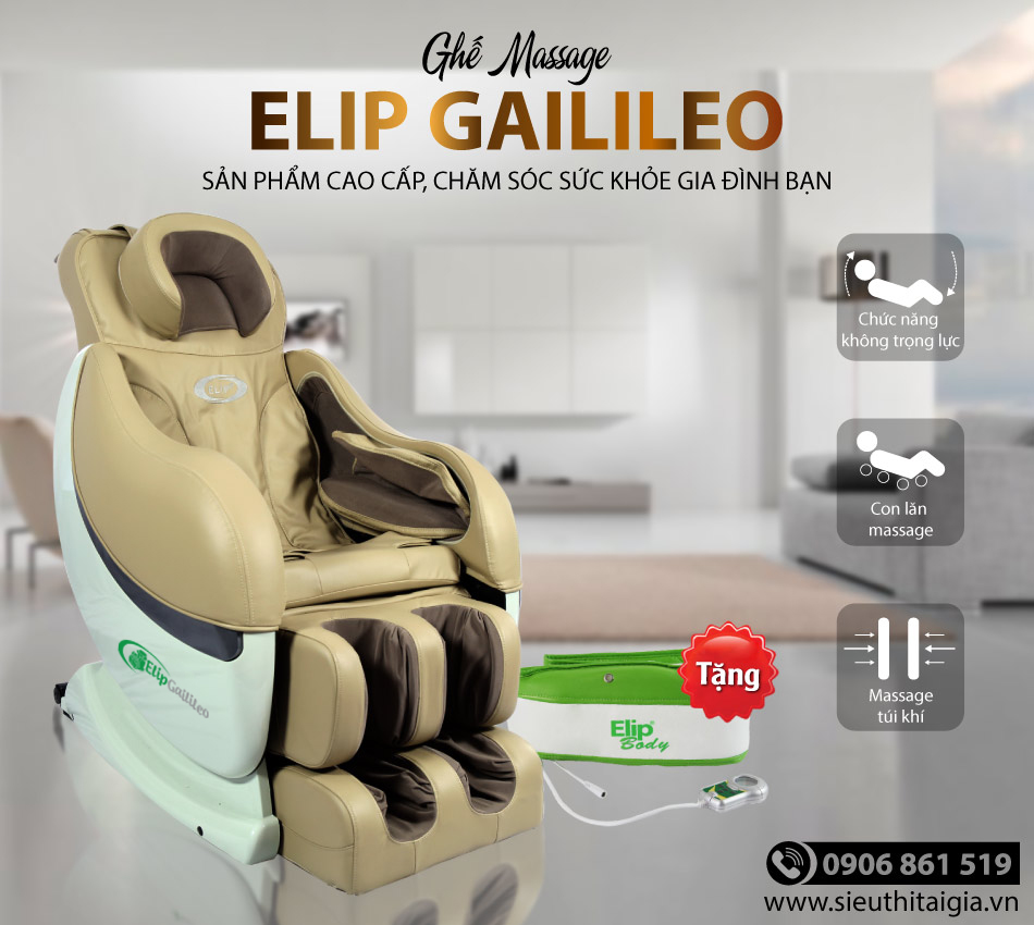 Review của khách hàng khi mua ghế massage Elip