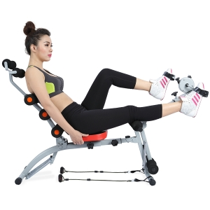 Vùng bụng, hông, mông, đùi sẽ trở nên thon gọn nhờ máy tập cơ bụng.