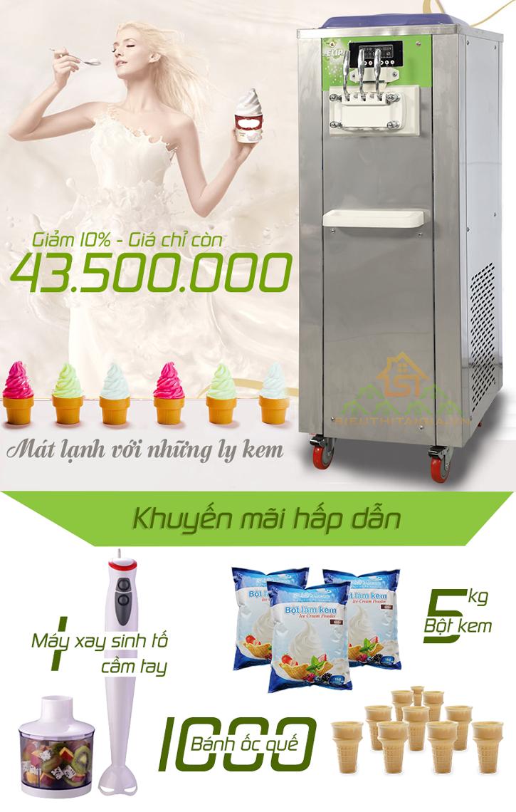 máy làm kem elip 2014