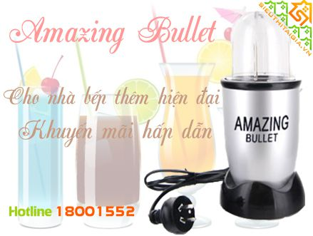 máy xay đa năng Amazing Bullet
