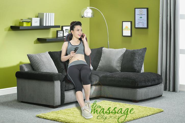 đệm massage elip 2013