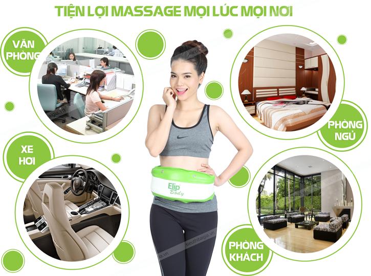 đai massage elip body
