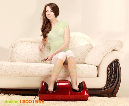 Máy massage chân giảm đau xương khớp, máy mát xa ấn huyệt bàn chân Nhật Bản