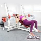 Ghế đẩy ngực trên Elip AC015