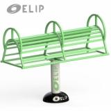 Máy tập lưng bụng Elip E2111