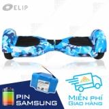 Xe Điện Cân Bằng Elip Style Blue-12T-Pin Samsung