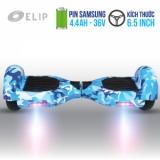 Xe Điện Cân Bằng Elip Style Blue-6T-Pin Samsung
