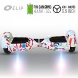 Xe Điện Cân Bằng Elip Style White-6T-Pin Samsung