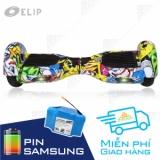 Xe Điện Cân Bằng Elip Style Yellow-3T-Pin Samsung