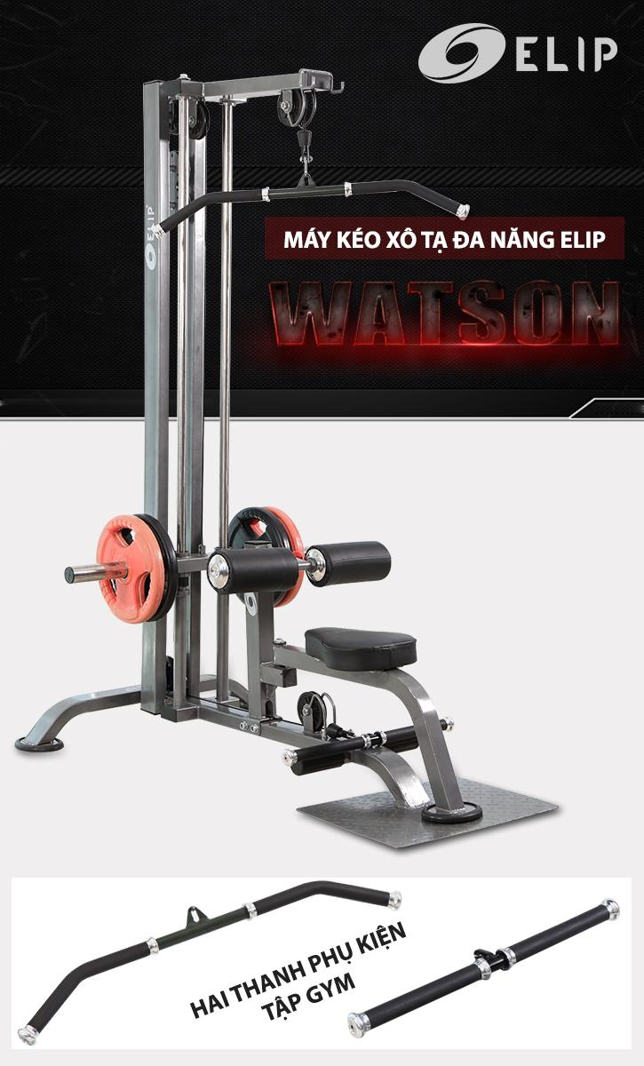 Máy kéo xô tạ đa năng Elip Watson 10in1 - ảnh 1