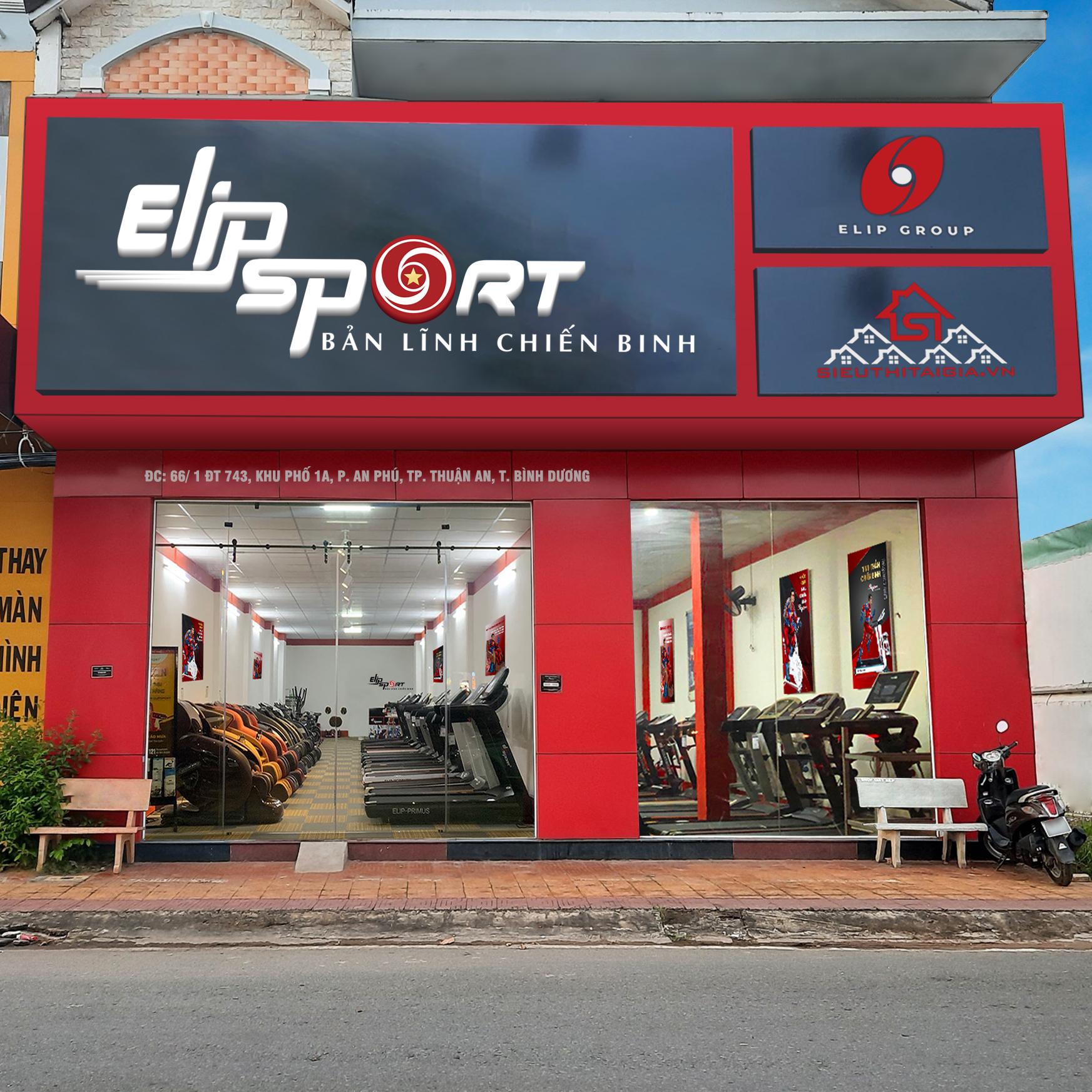 Chi nhánh Elipsport Thuận An Bình Dương