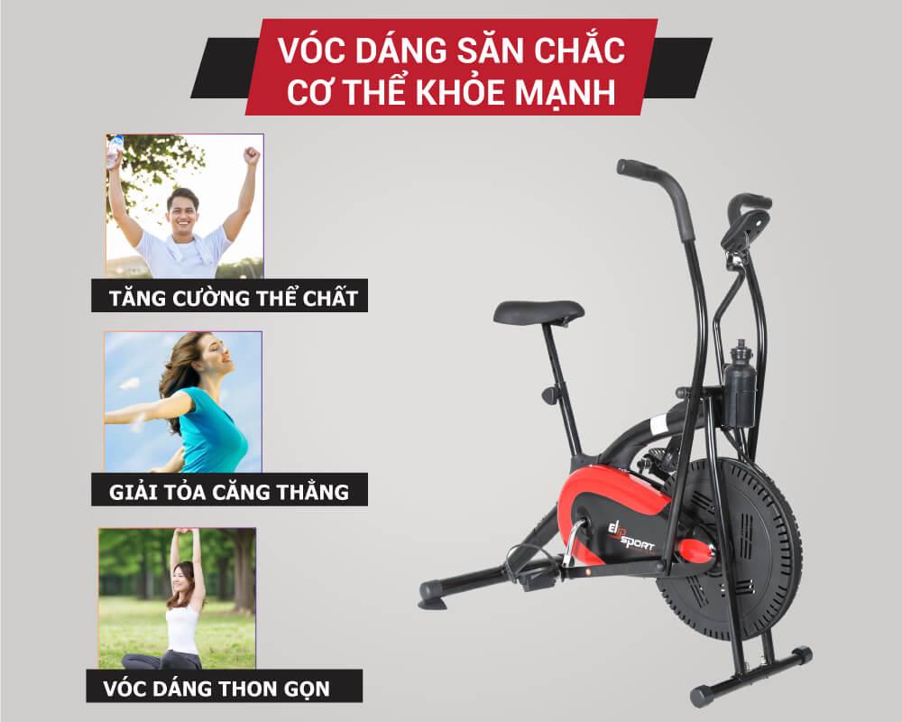 Xe đạp tập thể dục tại nhà loại nào tốt và nên mua?