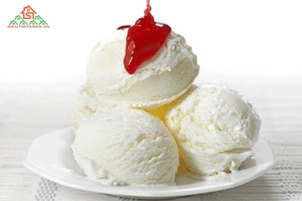 cách làm kem tươi tại nhà không cần máy