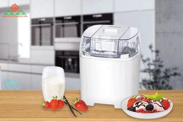 cách sử dụng máy làm kem tươi