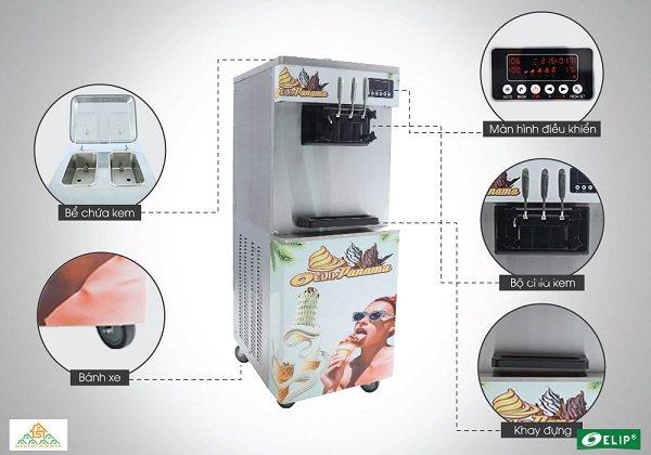 cách làm kem tươi bằng máy