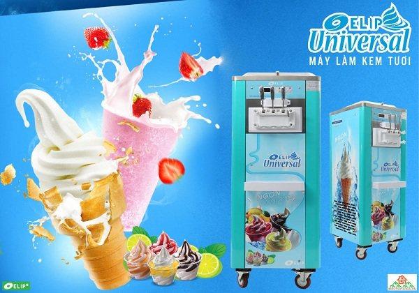 tăng lợi nhuận từ bán kem tươi với máy làm kem elip