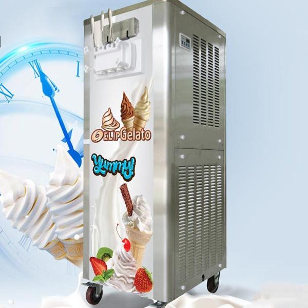 các loại máy làm kem thông dụng