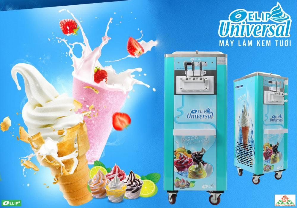 các loại máy làm kem thông dụng phục vụ kinh doanh