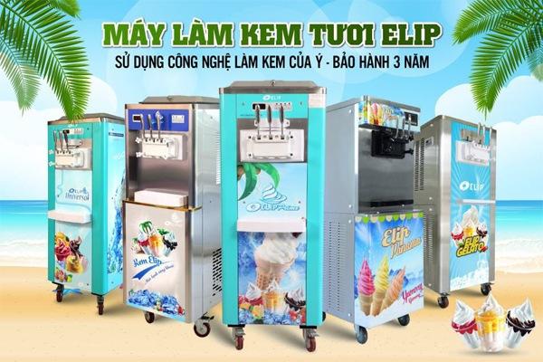 mua máy làm kem ở đâu