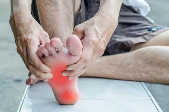 chạy bộ bị đau gót chân