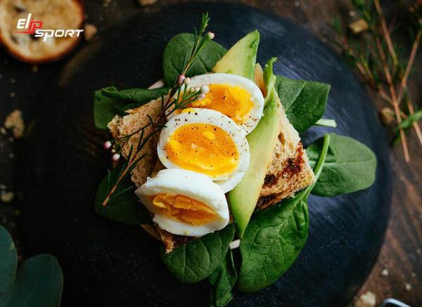giảm cân với trứng luộc