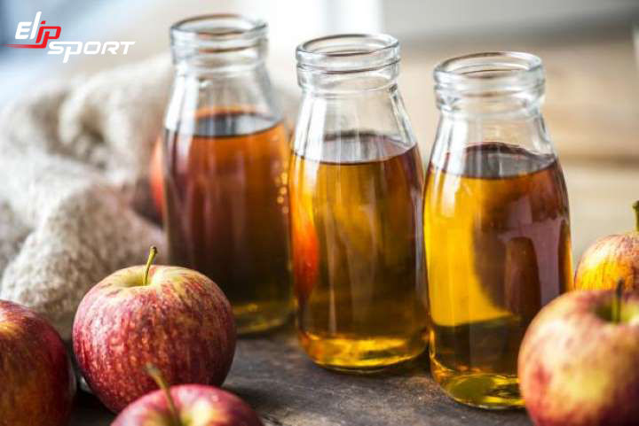uống giấm táo giảm cân