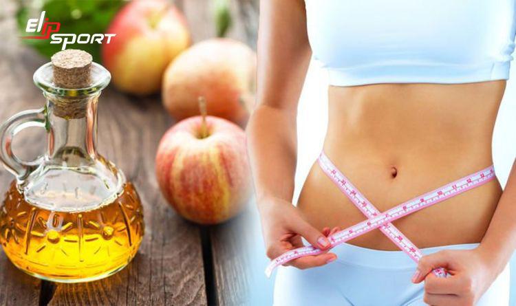 uống giấm táo như thế nào để giảm cân
