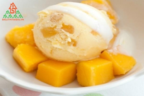 cách làm kem từ trứng gà