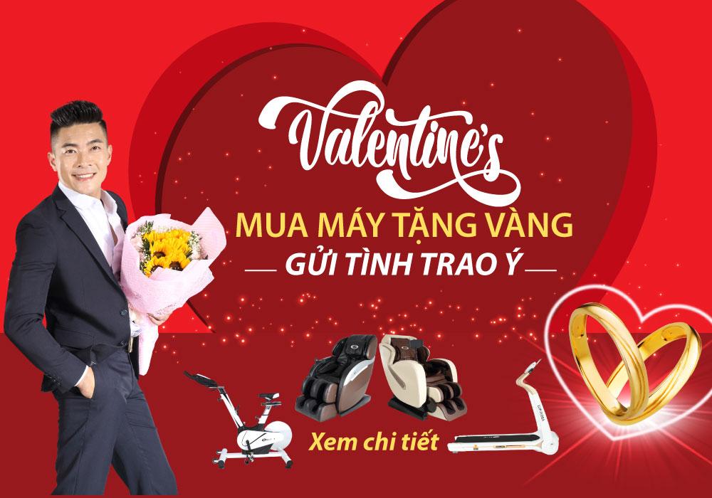 Khuyến mãi mua hàng tặng vàng mùa valentine - ảnh 1