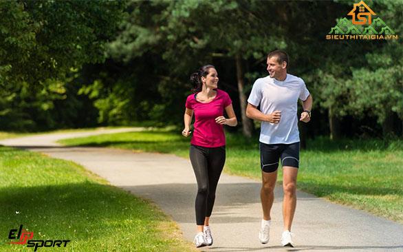 chạy bộ tăng cường sức khỏe elip