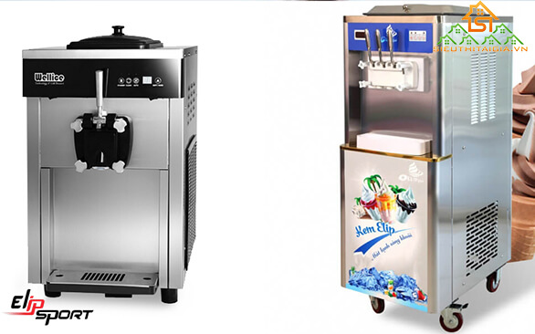 máy làm kem tươi 1 vòi và 3 vòi