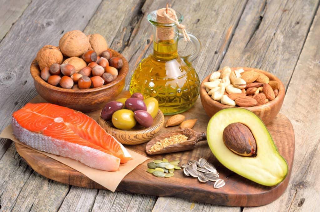 chất béo tốt có ích trong quá trình tăng cân