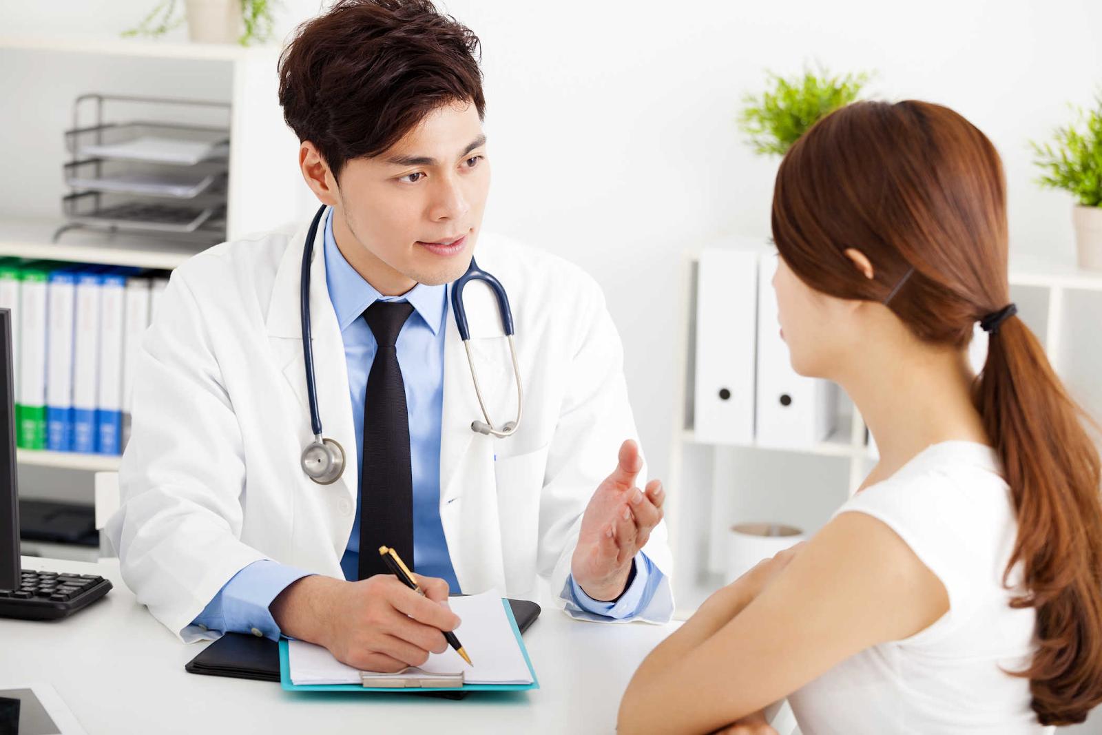 đến bác sĩ tư vấn tăng cân hiệu quả