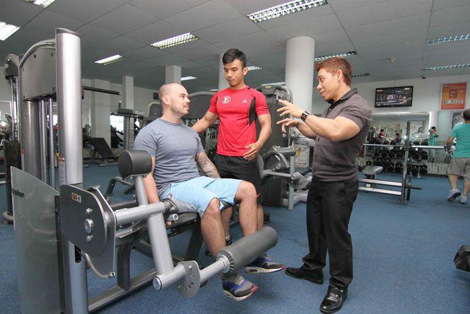 Phạm Văn Mách kinh doanh phòng gym