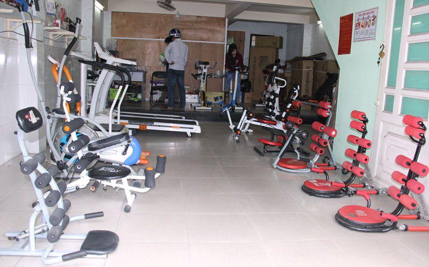 Phòng tập gym thu nhỏ tại hệ thống showroom - ảnh 2