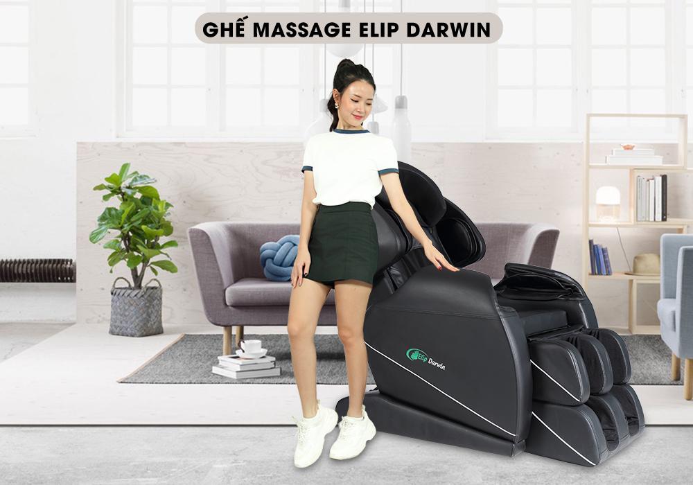 Ghế massage toàn thân Elip Darwwin