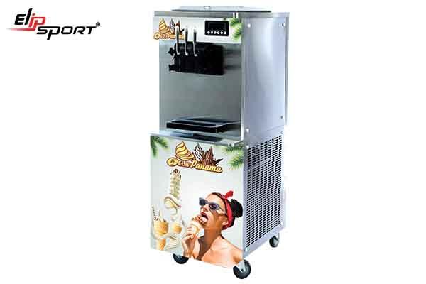 máy làm kem ở hòa bình