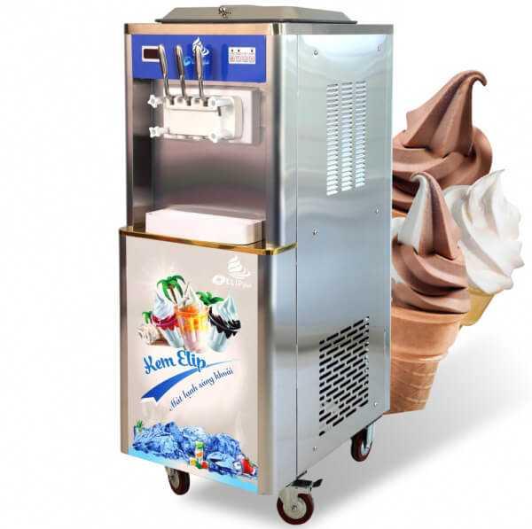 Máy làm kem tươi Cần Thơ, Châu Đốc, Long Xuyên, An Giang