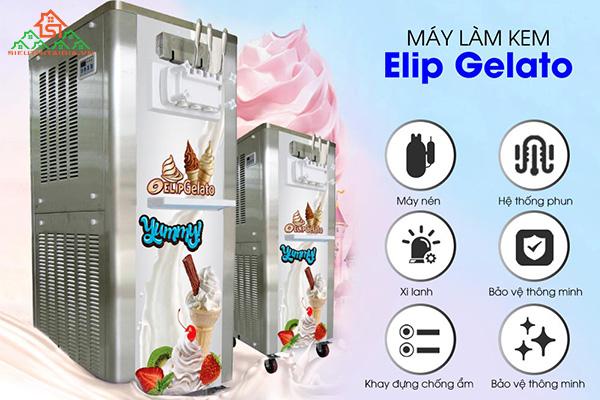 Nơi bán máy làm kem tươi ELIP tại TP. Bảo Lộc, Đà Lạt - Lâm Đồng