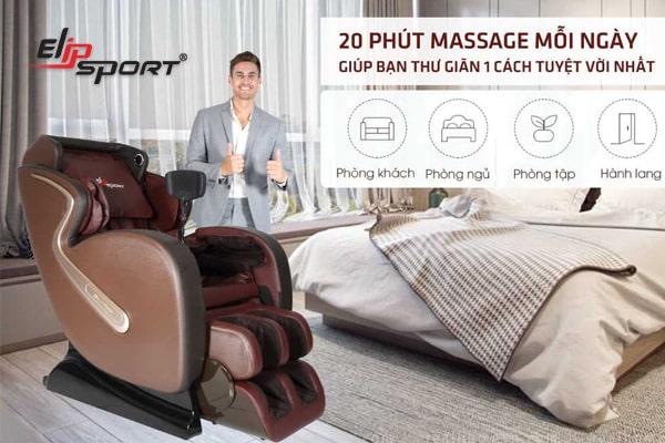 ghế massage mua ở đâu chất lượng