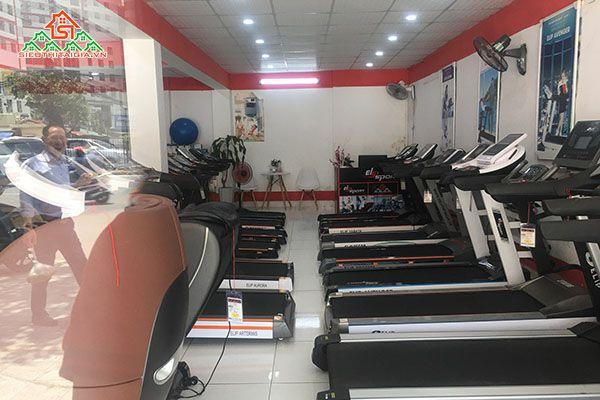 GIá máy chạy bộ điện Gò Công Tiền Giang