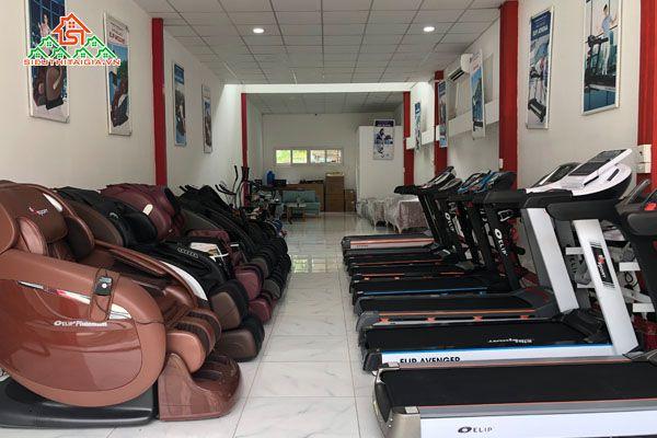 Cửa hàng phân phối máy chạy bộ điện tại Yên Bái