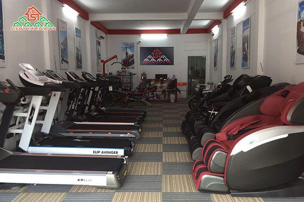 Cửa hàng phân phối máy chạy bộ điện tại TP.Sơn La
