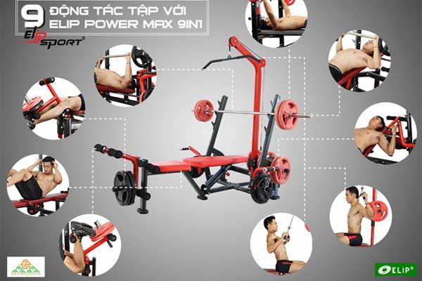 Cửa hàng dụng cụ, thiết bị máy tập thể dục thể thao TP.Tân An - Long An