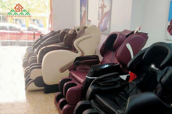 Mua ghế massage tại Long Biên